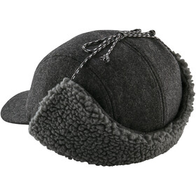 Patagonia Recycled Wool Ear Flap Cap forge grey